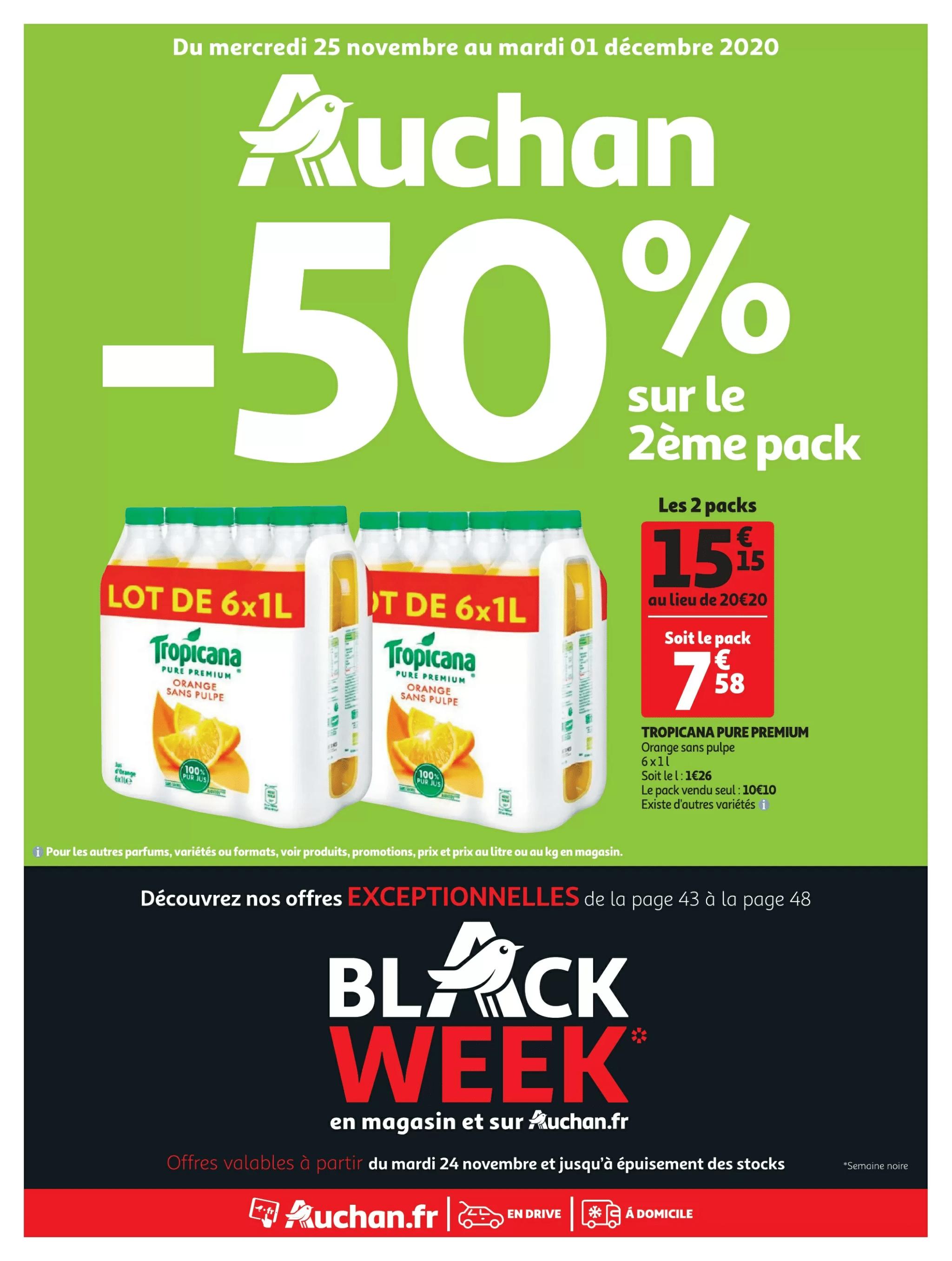 Auchan Black Friday folder 25 november t/m 1 december 2020